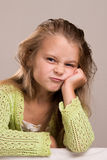 Menina na barra fotos de stock royalty free