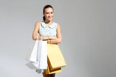 Menina na compra Imagem de Stock Royalty Free
