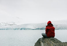Menina na meditação Fotografia de Stock Royalty Free