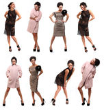 Menina na moda Fotografia de Stock