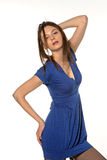 Menina na pose sedutor Imagem de Stock Royalty Free