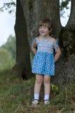 Menina nas madeiras Imagem de Stock