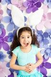 Emoção da criança beautyful fotos de stock