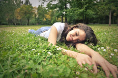 Menina natural Fotografia de Stock Royalty Free