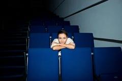 Menina no auditório Foto de Stock