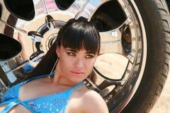 Menina no biquini Imagens de Stock Royalty Free