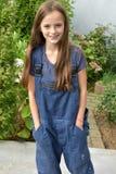 Menina no caldeira-terno Fotos de Stock Royalty Free