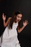 Menina no desespero Imagens de Stock