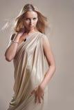 Menina no drapery Imagem de Stock Royalty Free