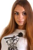 Menina no estúdio Fotografia de Stock