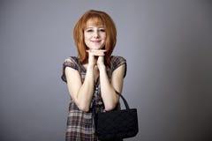 Menina no estilo 50s-60s americano. Imagens de Stock Royalty Free