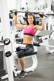 Menina no health club Foto de Stock Royalty Free