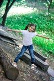 Menina no parque Foto de Stock