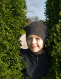 Menina no skullhat Fotos de Stock Royalty Free