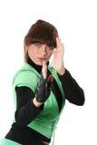 Menina no sportswear Fotografia de Stock Royalty Free