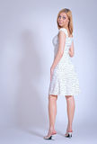 Menina no sundress claros Imagens de Stock Royalty Free