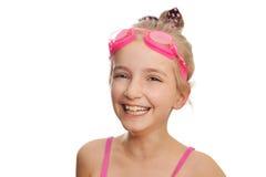 Menina no traje de natação imagem de stock royalty free