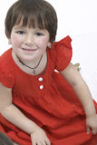 Menina no vestido Fotos de Stock