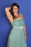 Menina no vestido de noite Imagens de Stock