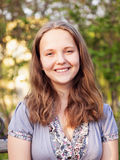 Menina nova do adolescente do retrato Imagem de Stock Royalty Free