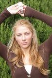 Menina nova do ecólogo imagens de stock royalty free