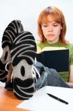 Menina nova do estudante Imagem de Stock