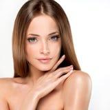 Menina nova e fresca bonita fotos de stock royalty free
