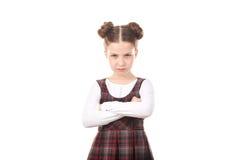 Menina ofendida do chool imagens de stock