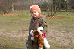 Menina pequena Foto de Stock Royalty Free