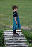 Menina pequena bonita do Kashmiri Foto de Stock Royalty Free