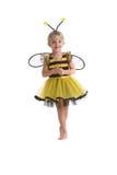 Menina pequena da abelha fotos de stock