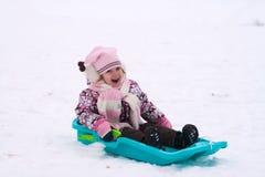 Menina pequena da beleza em Leigh. Imagem de Stock
