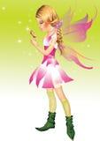 Menina pequena do duende Imagens de Stock Royalty Free