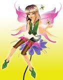 Menina pequena do duende da beleza Imagem de Stock