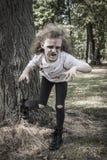 Menina pequena do zombi Imagens de Stock Royalty Free