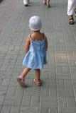 A menina perdeu a maneira fotografia de stock royalty free