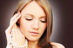 Menina perfeita bonita Fotografia de Stock Royalty Free