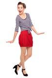 Menina Pin-Acima Imagem de Stock