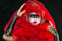 Menina pintada BB149743 Fotos de Stock Royalty Free