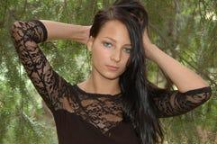 Menina polonesa dos jovens Fotos de Stock Royalty Free