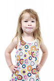 Menina pré-escolar nova imagens de stock
