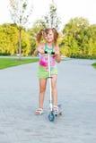 Menina pré-escolar Fotografia de Stock
