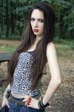 Menina punk Foto de Stock Royalty Free