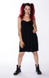 Menina punk 'sexy' Foto de Stock Royalty Free