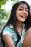Menina que aprecia ao ar livre Foto de Stock Royalty Free