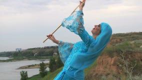 Menina que dança a dança do idi do ` do Sa filme
