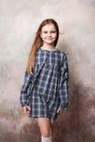 Menina que engana no estúdio Foto de Stock Royalty Free