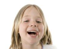 Menina que tem o divertimento Fotografia de Stock Royalty Free