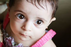 Menina recém-nascida Foto de Stock