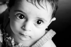 Menina recém-nascida Fotografia de Stock Royalty Free